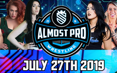 ALMOST PRO WRESTLING RESULTS 27/07/2019